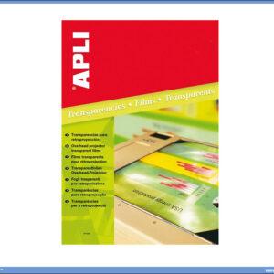 Laser folija za grafoskope A4 1/100, APLI