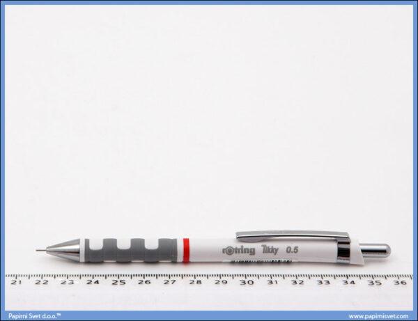 Tehnička olovka 0.5 Tikky bela, Rotring