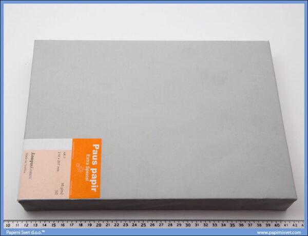 Paus papir 95gr. 1/500, Schoellers