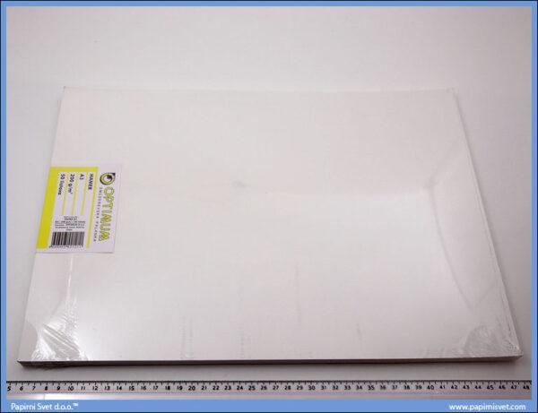 Hamer papir A3 200gr. 1/50, Optimum