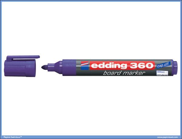 Whiteboard Marker za belu tablu LJUBIČASTI 360, Edding