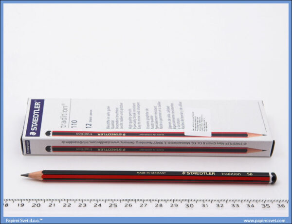 Grafitna olovka 5B tradition, Staedtler