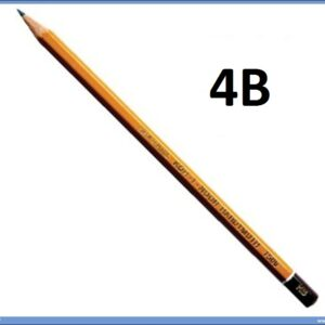 Grafitna olovka 4B HARDTMUTH, KOH-I-NOOR