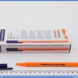 Tekst marker tanki narandžasti, Staedtler