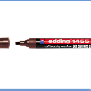 Kaligrafski marker kosi vrh BRAON 1-5mm, Edding