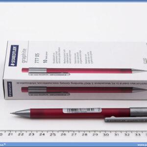 Tehnička olovka 0.5 MARS crvena-roze, Staedtler