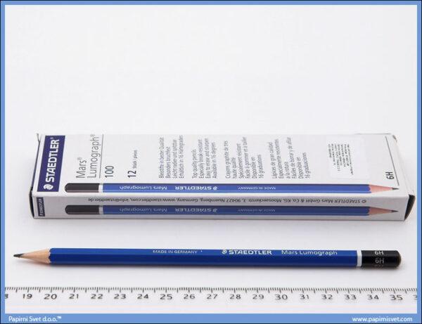 Grafitna olovka 6H LUMOGRAPH, Staedtler.