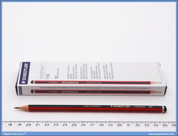 Grafitna olovka 3H tradition, Staedtler