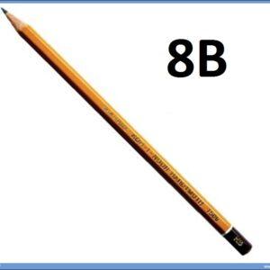 Grafitna olovka 8B HARDTMUTH, KOH-I-NOOR