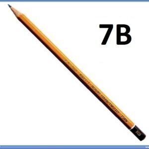 Grafitna olovka 7B HARDTMUTH, KOH-I-NOOR