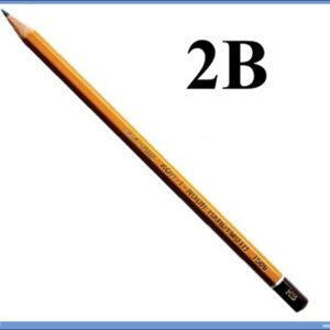 Grafitna olovka 2B HARDTMUTH, KOH-I-NOOR