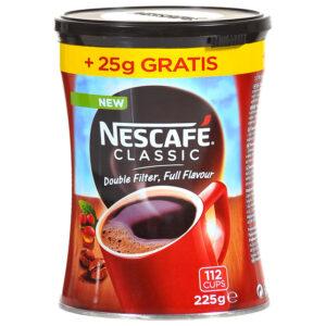 Nescafe Classic limenka 225g Dobule Filter Full Flavour