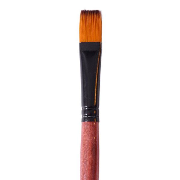 Četkica braon drska FLAT br. 6, Pop Brush