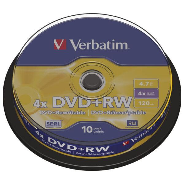 DVD+RW na štapu 1/10, Verbatim 403488