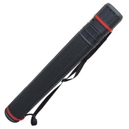 Futrola - Tuba za crteže raširujuća CRNA 75cm-130cm Φ10.5cm