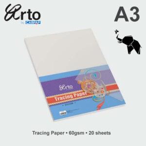 Paus papir A3 60gr u pakovanju 20 listova 36367, Campap