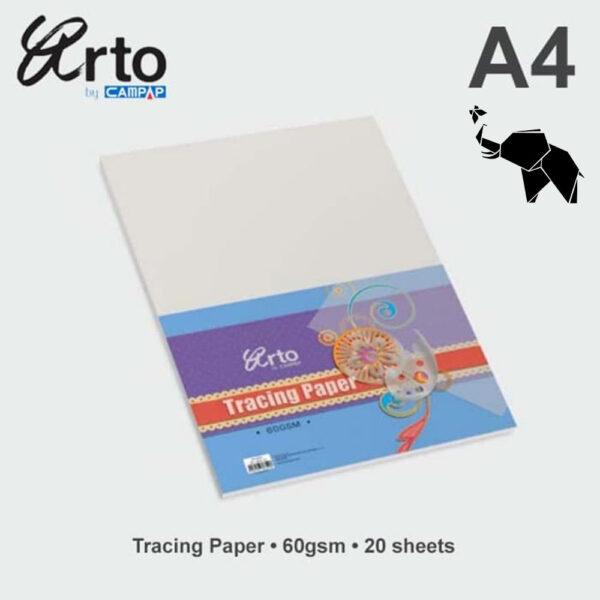 Paus papir A4 65gr u pakovanju 20 listova 36368, Campap