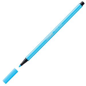 Flomaster 1mm NEON PLAVA FLUORESCENT BLUE 68/031, Stabilo