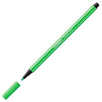 Flomaster 1mm NEON ZELENA FLUORESCENT GREEN 68/033, Stabilo