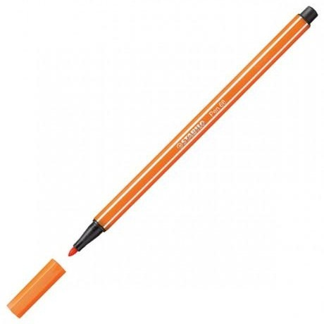 Flomaster 1mm CIGLA PALE VERMILION 68/30, Stabilo