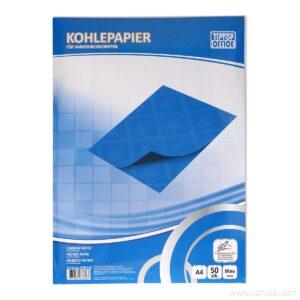 Indigo papir A4 ručni PLAVI 1/50 403364, TTO