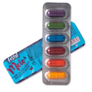 Boja u prahu za farbanje uskršnjih jaja u kapsuli. Dovoljno za bojenje 30 jaja. Set sadrži 6 boja. Težina jedne kapsule je 30 gr