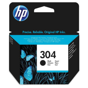 HP No.304 BLACK CRNI Ink Cartridge [N9K06AE]