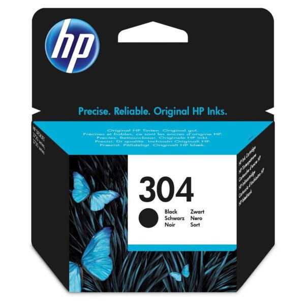 HP No.304 BLACK CRNI Ink Cartridge [N9K06AE]