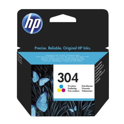 HP No.304 COLOR Ink Cartridge [N9K05AE]