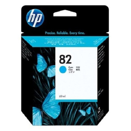 HP No.82 CYAN Ink Cartridge [C4911A]