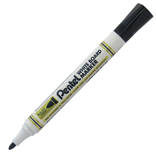 Whiteboard Marker za belu tablu CRNI MW85, Pentel