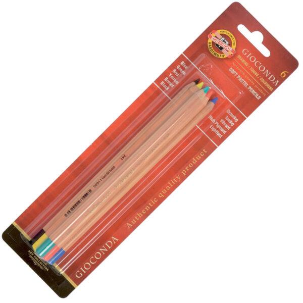 .Gioconda Soft Pastel Pencil Set 8826