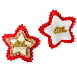 137100 novogodišnje zvezde dekoracija crvene zlatne bele