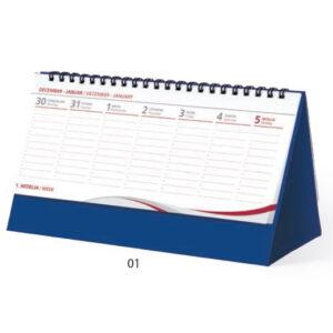 Stoni dnevni planer za 2020 godinu R3035 LUX Plavi, Lastva