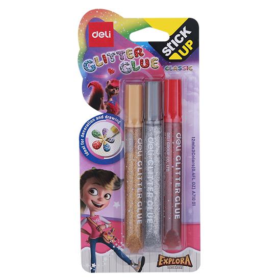 EA71001 Classic Glitter Glue 12ml