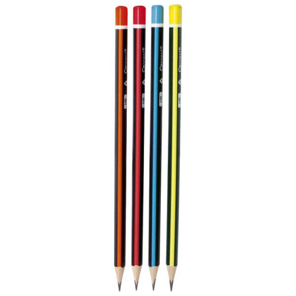 PAKET Olovka grafitna HB trouglasta 105608, 12 komada, Connect