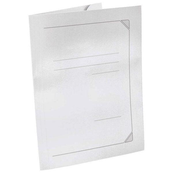 hromo karton bela klapna fascikla