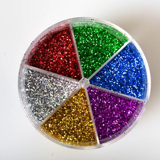 Star light ŠLJOKICE MIX u šejkeru, 6 boja, 60gr, Junior