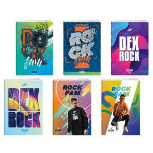 Sveska A5 dikto Dex Rock