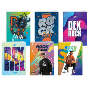 sveska Dex Rock A4 sitan karo
