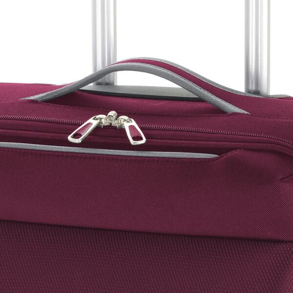 Kofer mali (kabinski) 38x55x20 cm  polyester 31l-2,6 kg Zambia crvena Gabol