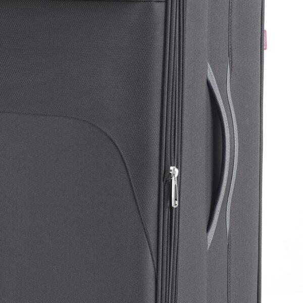 Kofer veliki 47x79x30 cm  polyester 90l-3,9 kg Zambia siva Gabol