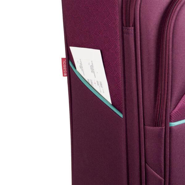 Kofer mali (kabinski) 39x54x20 cm  polyester 33l-2,5 kg Giro bordo Gabol
