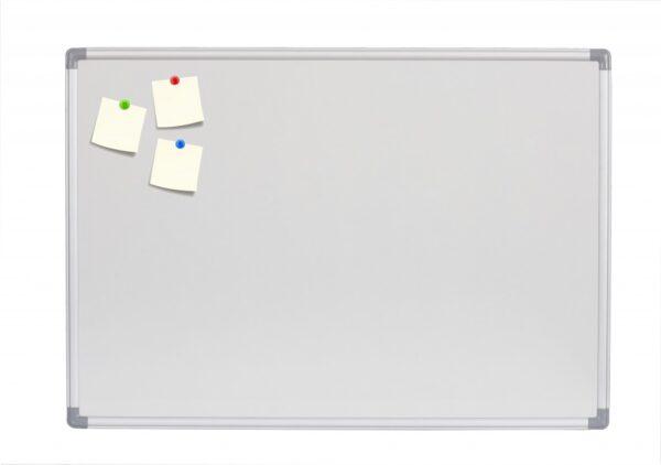 Bela tabla NOKI 120x200cm magnetna, alu ram
