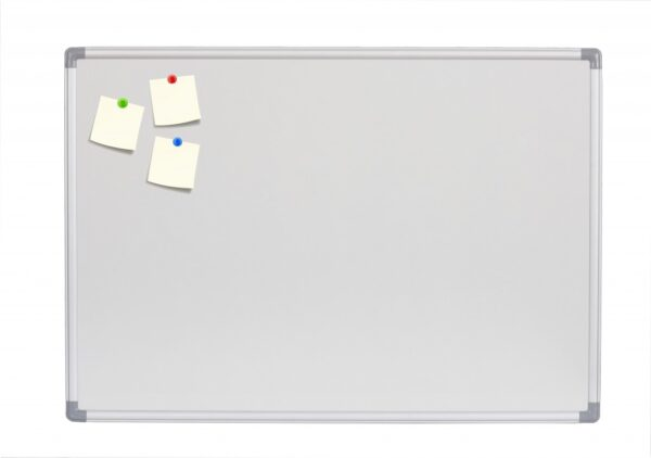 Bela tabla NOKI 120x240cm magnetna, alu ram