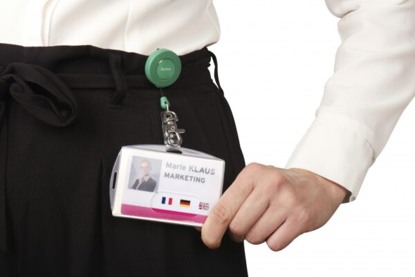 Držač za ID kartice sa RF zaštitom, 66x98mm, dupli clear 1/10 Tarifold