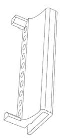 Elementi za proširenje podnog stalka Tarifold za +10ramova