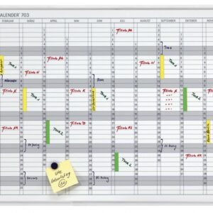 Godišnja planer tabla JK 703, 60x90, 12 meseci Franken