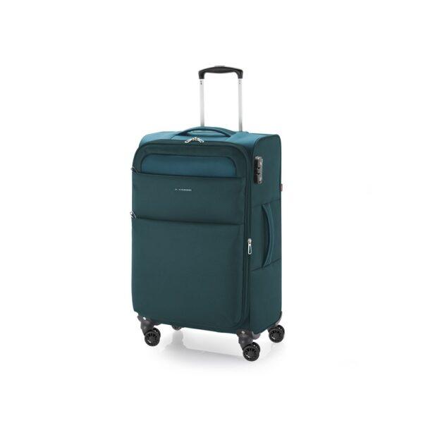 Kofer srednji 42x69x26 cm  polyester 61l-2,7 kg Cloud extra light tirkiz Gabol