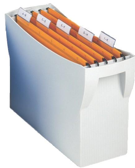 Kutija za viseće fascikle SWING siva Han